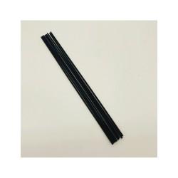 """""""KRISPO"""" juodos lazdelės namų kvapų difuzoriams 37 cm"""