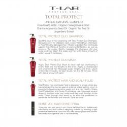 TOTAL PROTECT HAIR AND SCALP FLUID/DAŽYTŲ AR CHEMIŠKAI APDOROTŲ PLAUKŲ FLUIDAS 150 ml/NAUJIENA