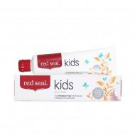 Red Seal Kids - natūrali mėtų, persikų ir bananų skonio dantų pasta vaikams