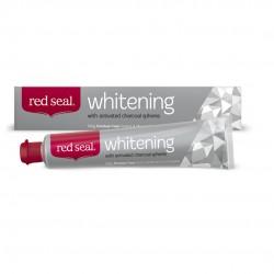 Red Seal Whitening - Balinanti dantų pasta su aktyvinta anglimi, soda ir kokosų aliejumi